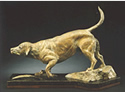 Bronze Labrador Retriever Sculpture